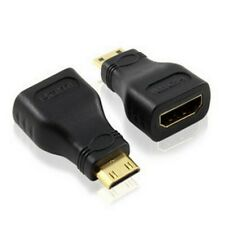 HDMI to Mini HDMI Lead Adapter Type A Female to Type C Male Gold Plated 1080p UK