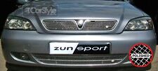 ZunSport Vauxhall/Opel Astra G MK4 2001-04 Polished Steel Front/Rear Grille Set