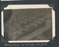 WWII 1945 Okinawa USAAF  Revetments on Yontan Airfield Photo