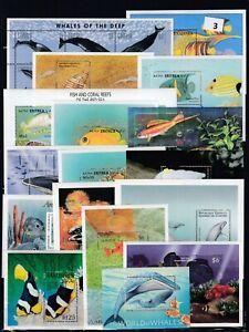 OJ 50S/S - 3SCANS -  MNH - FISH - MARINE - REEF MARINE LIFE - WHOLESALE