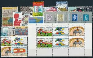 Netherlands Niederlande 1976 Year Set Complete incl. Miniature Sheets MNH