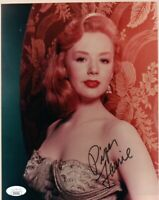 Piper Laurie Signed Autographed 8X10 Photo The Hustler Carrie JSA II35132