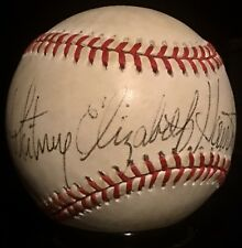 ONLY KNOWN Whitney Houston dec2012 Music Icon PSA Autographed Baseball FULL NAME