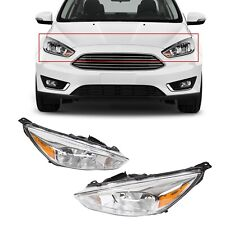 For 2015-2018 Ford Focus Headlights Lights Headlamps Lamps 16 17 18 Left Right