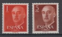 ESPAGNE (1960) NUEVO MNH SPAIN - EDIFIL 1290/91 FRANCO