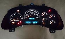 2002-2006 Chevy Trailblazer Instrument Gauge Cluster Speedometer Rebuilt w/D.I.C