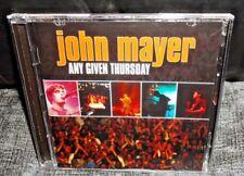 John Mayer Any Given Thursday (CD, 2003, 2-Disc)
