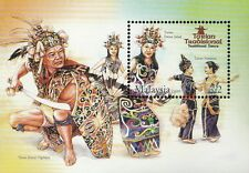 Malaysia Traditional Dance 2005 Costumes Art Culture (miniature sheet) MNH