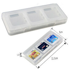 Pratical 6 in1 Plastic Game Card Storage Holder Case Cover Box 3DS DSI DS NDS