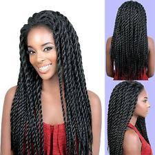 24inch Lace Front Havana Mambo Twist Braided Wig Full Head Wigs For Black Women