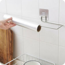 Stainless Steel Kitchen Paper Holder Towel Bathroom Wall Mounted Cabinet Toi`yu