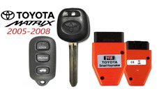 Toyota MATRIX 05-08 44D  DOT Chip Key + 4 Button Remote GQ43VT14T + Programmer