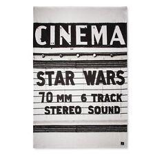 Star Wars Cinema White Bed Blanket (Twin)