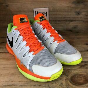 Nike Court Zoom Vapor 9.5 Tour Clay Carpet Flyknit Men's Tennis Shoes Size UK7.5