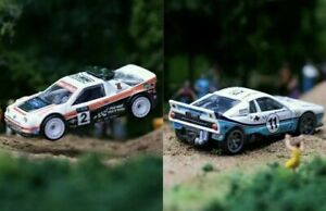 *IN HAND**CHEAPEST* SET OF PERIOD CORRECT HOTWHEELS FORD RS200 LANCIA O37