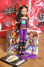 Clawdeen Wolf School`s Out Puppe Doll Monster High  +  Karten