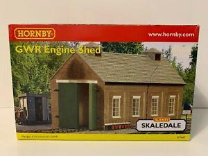 Hornby Skaledale R9667 OO Gauge Building GWR ENGINE SHED