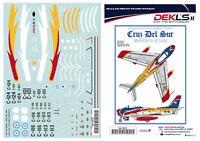 1/72 F-86 Sabre-'Cruz Del Sur' FAA Aerobatic Team (4 options) Decal DEK L's II
