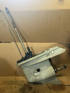 "150-225 HP OEM Johnson Evinrude Etec 25"" Lower Unit Gear Case Needs Seals"