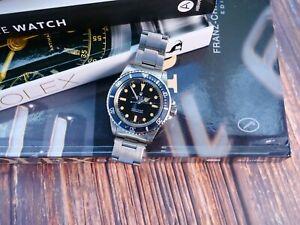 Vintage Rolex 5513 Meters First Dial Men's Wrist Watch
