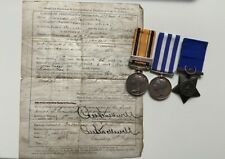 More details for victorian south africa 1877-79 (zulu) egypt medal group 91st foot