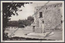 GRECIA GREECE EGEO Aegean RODI 54 RODOS RHODES Ρόδος ARMERIA Cartolina 1942