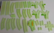 Thomas The Train Trackmaster Green Glow In The Dark Tracks for Replacement 25 pc