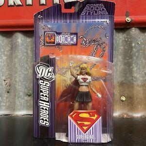 DC SUPERHEROES SUPERGIRL 2007 ACTION FIGURE SELECT SCULPT SERIES S3