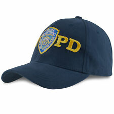 Officially Licensed NYPD Baseball Cap Emblem New York Police Department NYC Cop