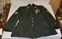 Vintage Woman's US Army Airborne Coat Size 14 Short