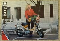 YAMAHA BOP II 49cc MOPED Sales Brochure c1981 #LIT-3MC-0107558-81E