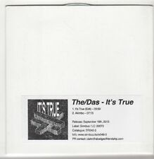 (GS229) The Das, It's True - 2013 DJ CD