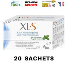 20 Sachets XLS Cure Tisane Laxative Thé Minceur Amincissant Régime Transit Détox