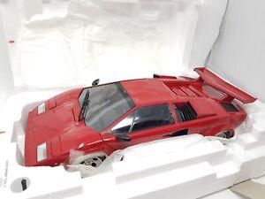 KYOSHO 1:12 Lamborghini Countach LP5000S/5000 S Red 08612R NEW Rare OOP