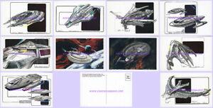COMPLETE Set of TEN MINT Star Trek IX: Insurrection Concept Art PROMO POSTCARDS!