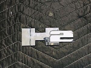 "CHROME HUMMER ""H2"" EMBLEM  OEM GM 15771366"
