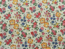 Liberty TANA LAWN tissu de coton Ella et Libby (C) 3.15 m-rouge / rose / bleu 315cm