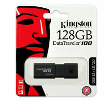Kingston DT100G3 16GB 32GB 64GB 128GB DataTraveler 100G3 USB 3.1 Flash Drive Lot