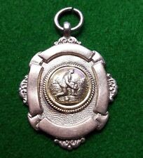 solid silver watch fob medal 12.4 g    no'45