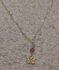"Sterling Silver 9.5"" Butterfly Ankle Bracelet"