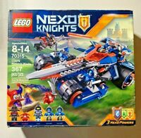 LEGO Nexo Knights 70315 Clay's Rumble Blade (367pc) w/5 Minifigs NEW in Worn Box