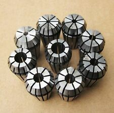 9pcs ER32 Spring Collet Set 2, 4, 6, 8, 10, 12, 16, 18, 20mm Free Shipping