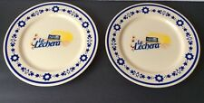 "Nestle Milk Maid La Lechera 10"" Collectors Plate Set of 2"