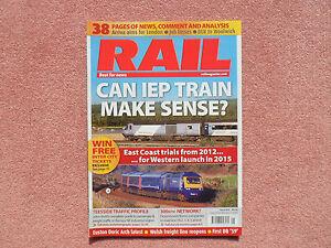 RAIL Issue 610 - Teesside + Euston Doric Arch + Manchester & Leeds Rail Services