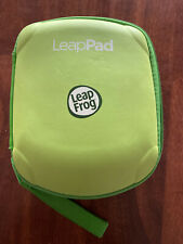 Leap Frog Leap Pad 2 Explorer Carrying Case Holds 6 Cartridges Green