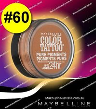 UNDER $10 CATEGORY Maybelline Eye Studio Color Tattoo Pure Pigments Shadow 60
