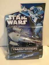 Transformers Star Wars Crossover Captain Rex to Freeco Speeder NIB Action Figure
