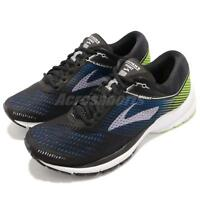 Brooks Launch 5 Black Blue Green White Men Running Training Shoes 110278 1D