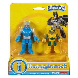 Imaginext DC Super Friends DARKSEID AND MINION FIGURE 2 PACK SUPERMAN VILLAIN