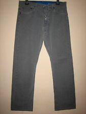 RR64) MENS STYLISH BLUE BURBERRY BRIT  STRAIGHT LEG JEANS WAIST 32L LEG 30